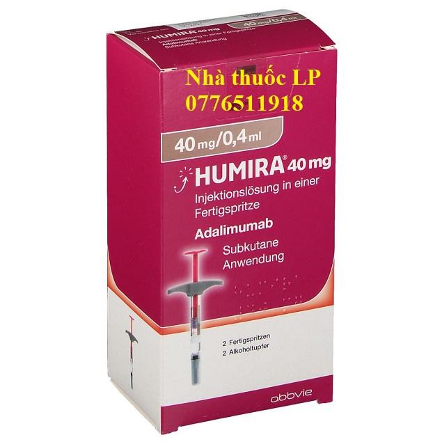 Thuốc Humira 40mg/0.4ml Adalimumab điều trị viêm khớp dạng thấp (3)
