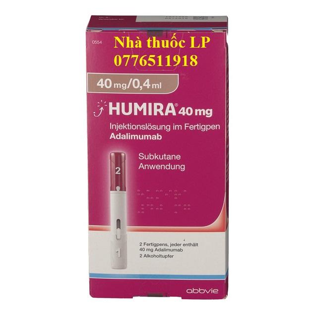 Thuốc Humira 40mg/0.4ml Adalimumab điều trị viêm khớp dạng thấp (4)
