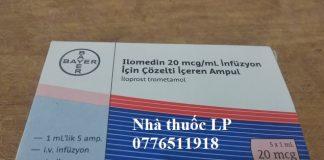 Thuốc Ilomedin 20mcg/ml Iloprost điều trị tăng huyết áp động mạch phổi (PAH) (1)