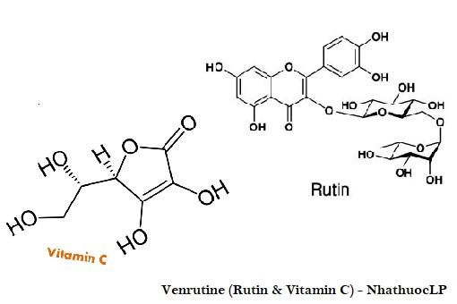 Venrutine (Rutin & Vitamin C) - NhathuocLP