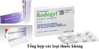 Tổng hợp các loại thuốc kháng sinh trị viêm nướu răng