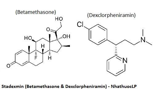 Stadexmin (Betamethasone & Dexclorpheniramin) - NhathuocLP