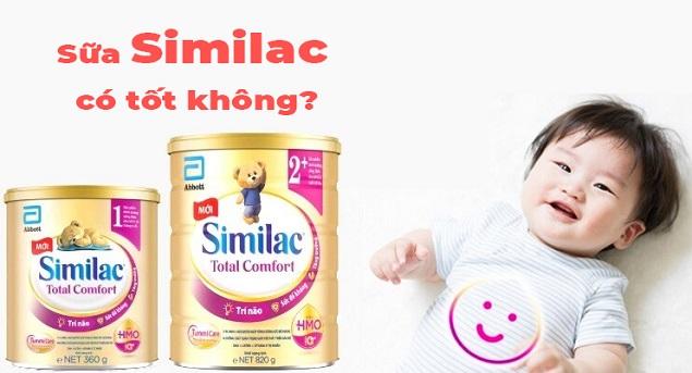 Sữa Similac có tốt không? Đem lại lợi ích gì cho trẻ em Việt?
