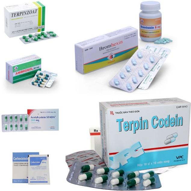 7 loại thuốc đặc trị ho có đờm hiệu quả nhất hiện nay 2020