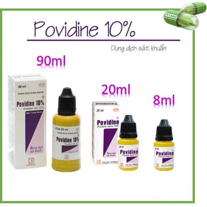 Có nên sử dụng Povidine thường xuyên và kéo dài không?