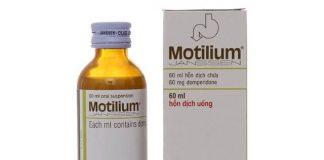 Thuốc Motilium điều trị trào ngược dạ dày, buồn nôn hiệu quả