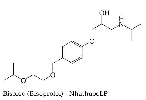 Bisoloc (Bisoprolol) - NhathuocLP