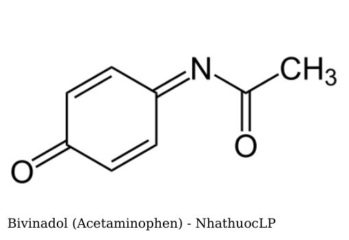 Bivinadol (Acetaminophen) - NhathuocLP