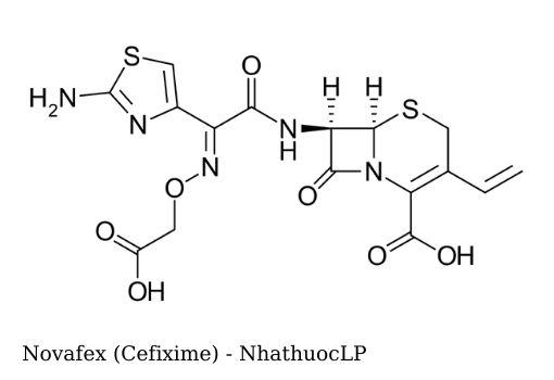 Novafex (Cefixime) - NhathuocLP
