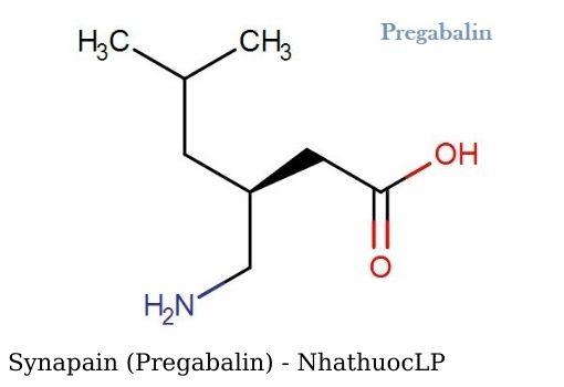 Synapain (Pregabalin) - NhathuocLP