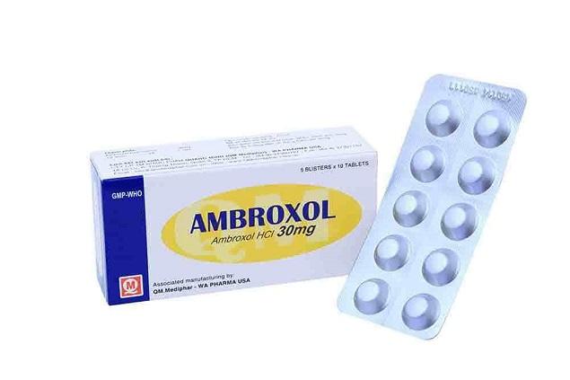 Những thông tin cần biết về thuốc Ambroxol