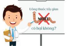 Uống thuốc tẩy giun nhiều có hại không?