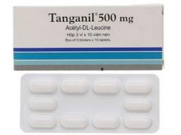Những thông tin cần biết về thuốc trị chóng mặt Tanganil