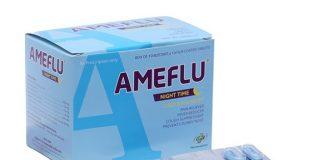Những thông tin cần biết về thuốc Ameflu night time