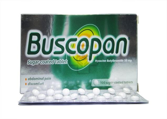 Những thông tin cần biết về thuốc Buscopan
