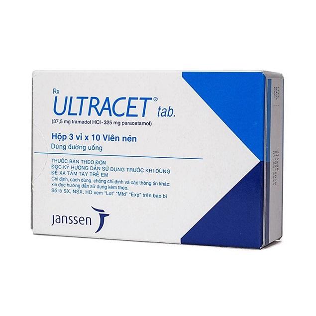 Những thông tin cần biết về thuốc giảm đau gây nghiện Ultracet