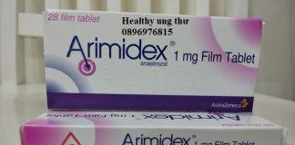 Thuốc Arimidex giá bao nhiêu?