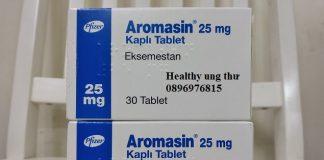 Thuốc Aromasin 25mg Exemestane điều trị ung thư vú