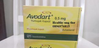 Thuốc Avodart 0.5mg Dutasteride điều trị u phì tuyến tiền liệt
