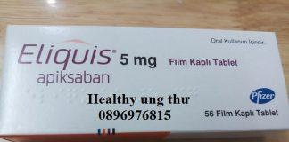 Thuốc Eliquis 5mg Apixaban điều trị phòng chống đột quỵ hiệu quả