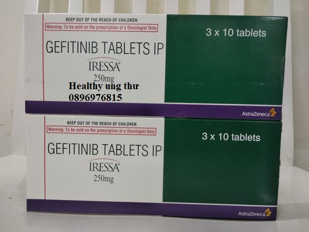 Thuốc Iressa 250mg Gefitinib điều trị ung thư phổi