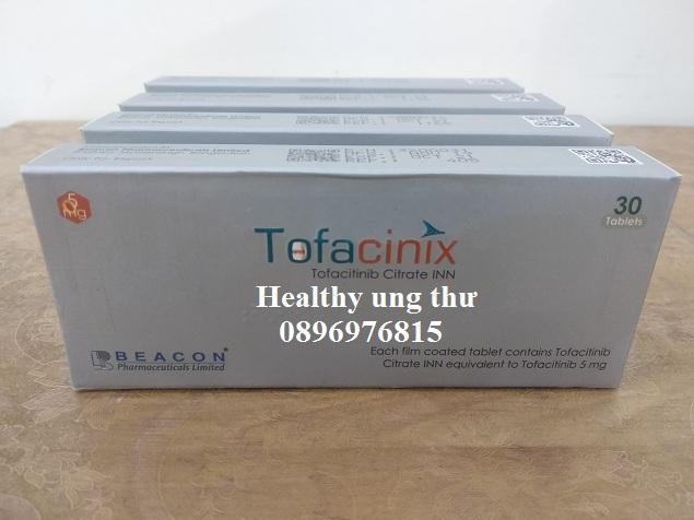 Thuốc Tofacinix 5mg Tofacitinib điều trị viêm khớp dạng thấp