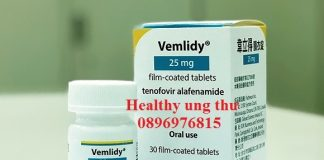 Thuốc Vemlidy 25mg Tenofovir Alafenamide điều trị viêm gan B
