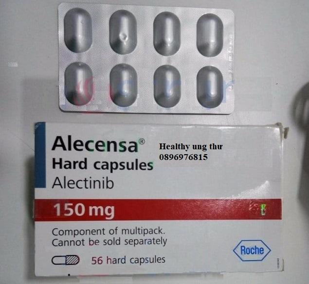 Thuốc Alecensa 150mg Alectinib điều trị ung thư phổi