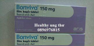 Thuốc Bonviva 150mg Ibandronic điều trị loãng xương