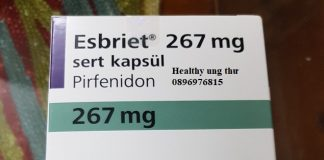 Thuốc Esbriet 267mg Pirfenidone điều trị xơ phổi vô căn