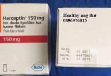 Thuốc Herceptin 150mg Trastuzumab điều trị ung thư vú và ung thư dạ dày