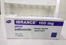 Thuốc Ibrance 125mg Palbociclib điều trị ung thư vú di căn