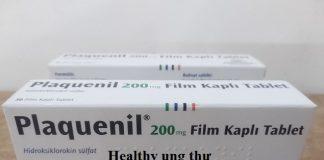 Thuốc Plaquenil 200mg Hydroxychloroquine điều trị hoặc ngăn ngừa bệnh sốt rét