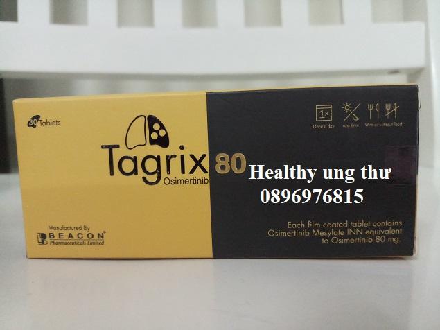 Thuốc Tagrix 80mg Osimertinib điều trị ung thư phổi