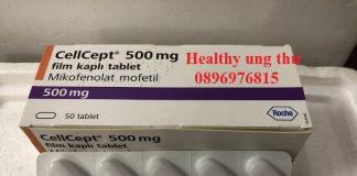 Thuốc Cellcept 500mg Mycophenolate mofetil điều trị chống thải ghép thận