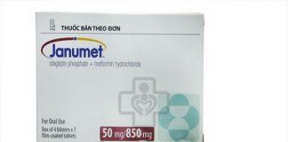 Thuốc Janumet 50/850 mg là thuốc gì? Giá bao nhiêu?